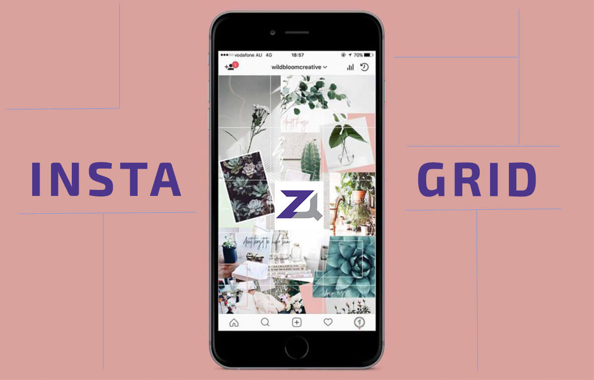 Instagram photo grid (šablon) –Instagram i vizuelni identitet