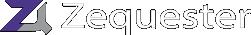 Zequester logo inverse